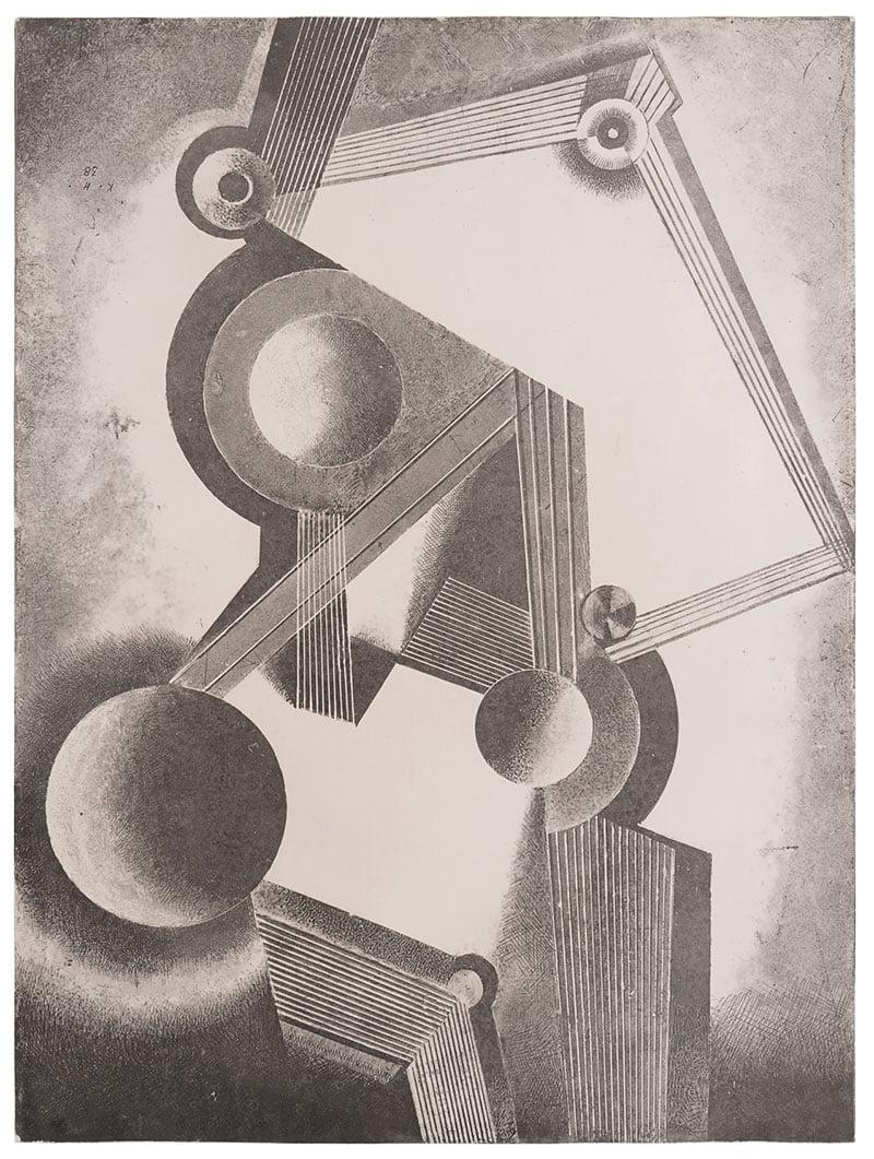 Kompozycja heliograficzna XXIV